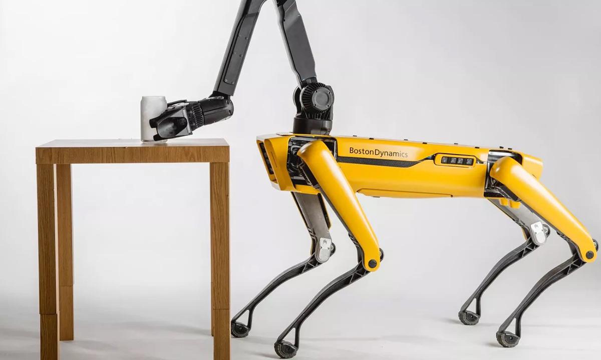 波士顿动力Spot机器人即将商用,可自动避障、会跳舞