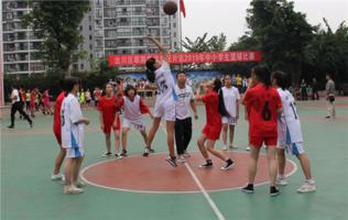 <b>达州市达川区翠屏督学责任片区2019年中小学生篮球比赛在金华学校举行</b>