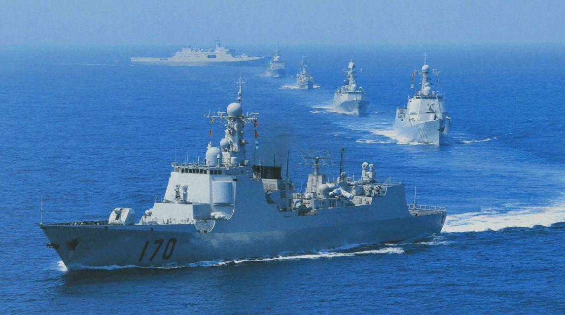 肆无忌惮,一艘外籍战舰闯入南海,大国反制手段升级