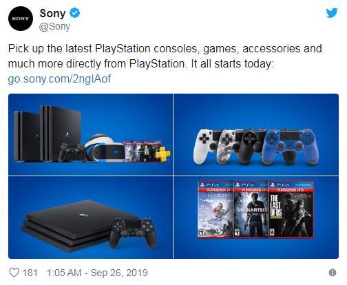 索尼互动娱乐为美国PlayStation玩家开辟了专属的线上商店