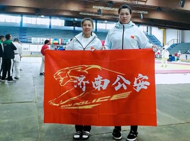 济南俩警花在第三届世界警察运动会柔道比赛中创佳绩