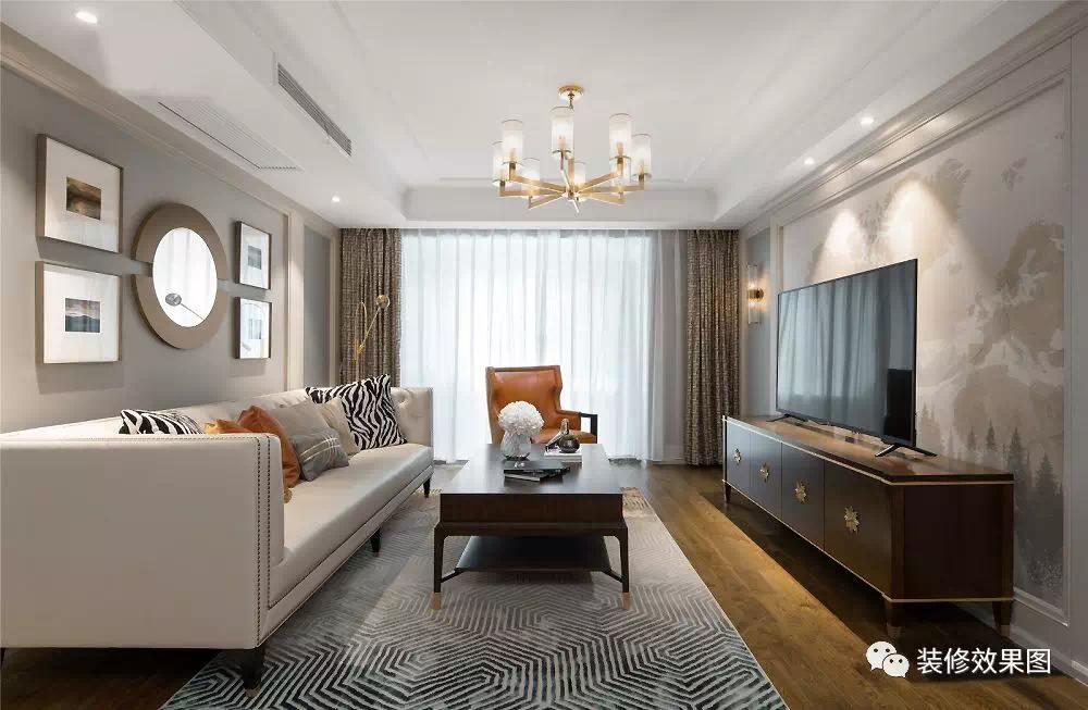 150㎡优雅美式4室2厅,嵌在骨子里的细节流动
