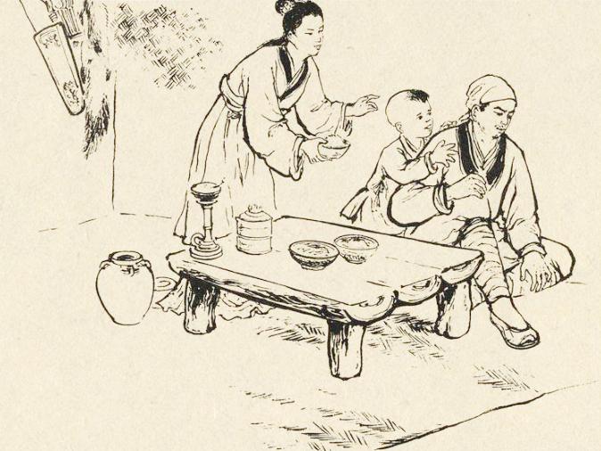 民间传说:路边捡个爹,孝心换青山,世代吃不完