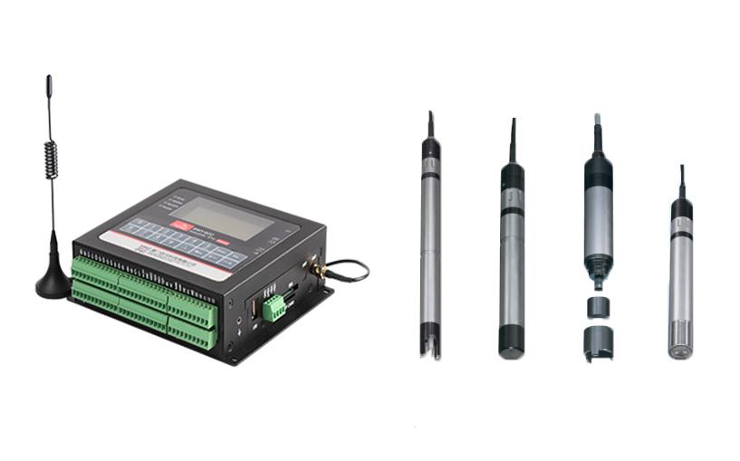 水质传感器与RTU.jpg