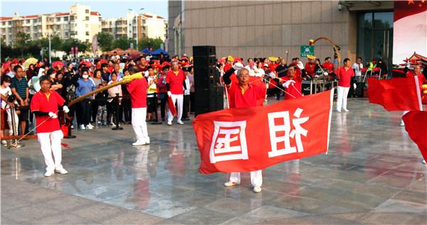天津滨海海滨街庆祝新中国成立70周年图片报道(二)