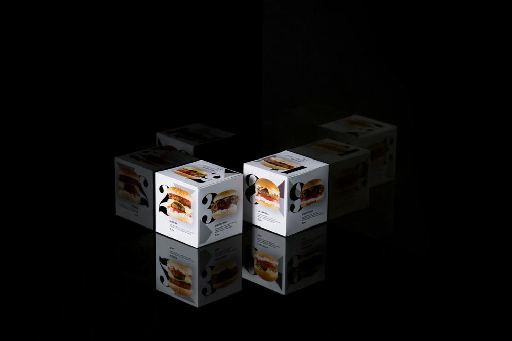汉堡品牌包装设计