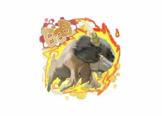 《精灵宝可梦》图鉴626:可能是肯泰罗的近亲——爆炸头水牛