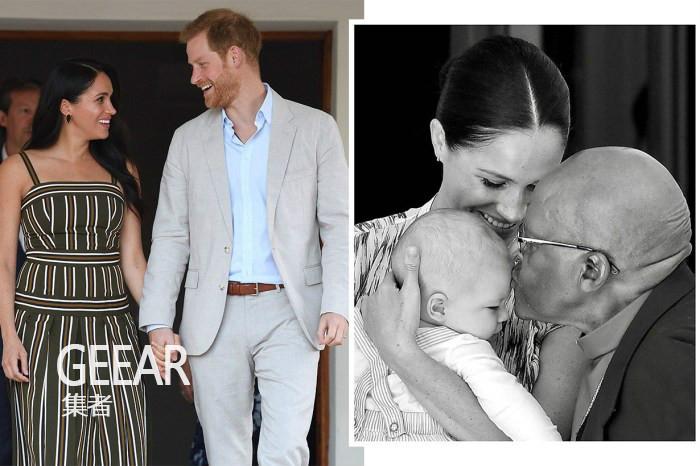 英国皇室发福利!哈里和梅根的宝宝小Archie多张近照大公开!