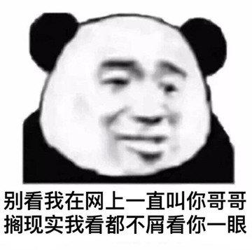 划水狗图片_熊猫头表情包合集|我懂,我会照顾好嫂子的_侵权