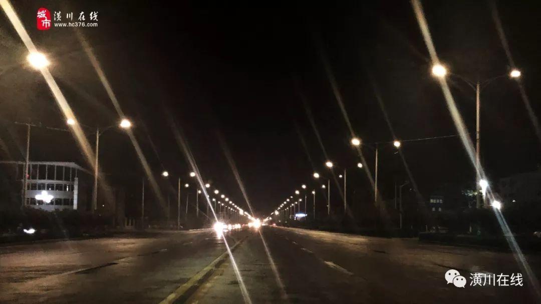 官方回复!美化潢川夜景,潢川的路灯可以亮起来...