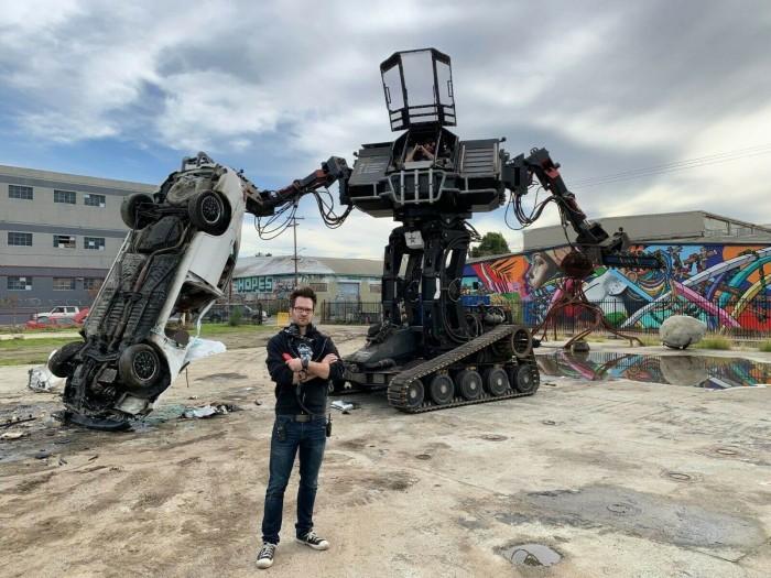 MegaBots公司破产在eBay上拍卖巨型战斗机器人