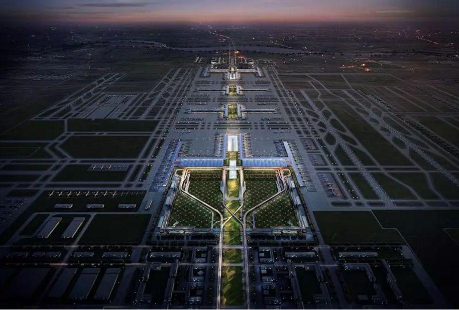 中国民航机场建设集团公司,中国北京市建筑设计研究院的联合体方案图片