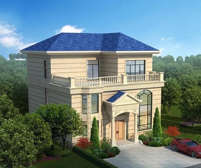 农村小别墅设计图纸及自建房效果图大全