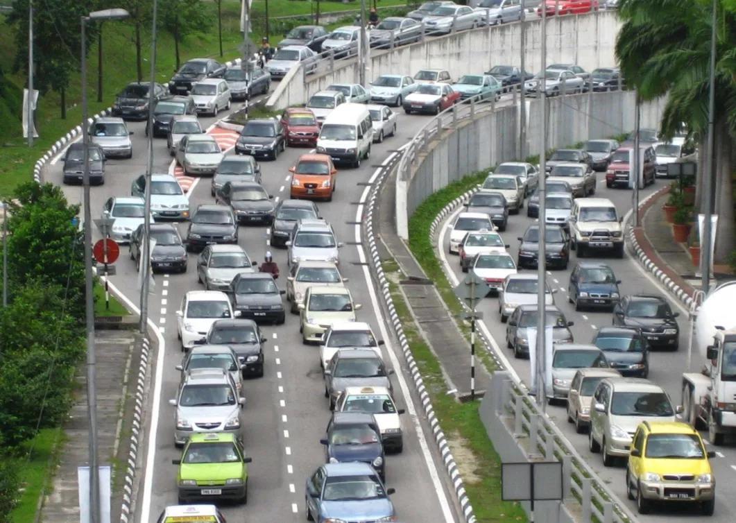 世界各地壮观的堵车景象[组图]
