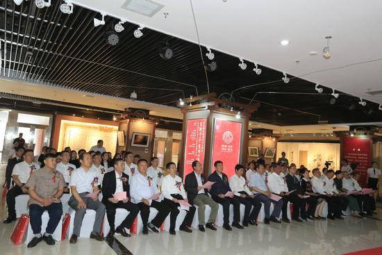 四川司法行政献礼新中国成立70周年书画摄影非遗作品展在京开幕