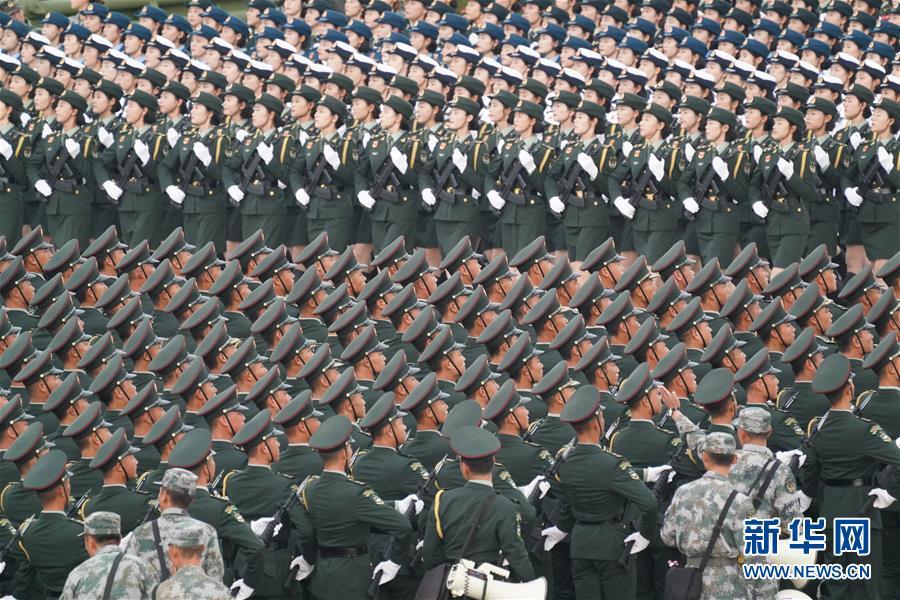 庆贺新中国成立70周年阅兵预备任务停顿顺利(组图)-国际在线