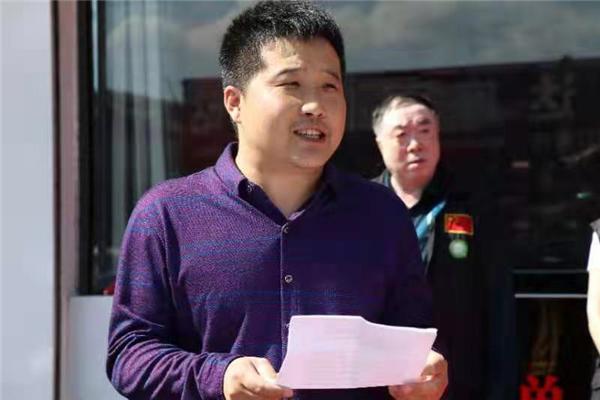 中国公益记录者在线蔚县工作站揭牌成立