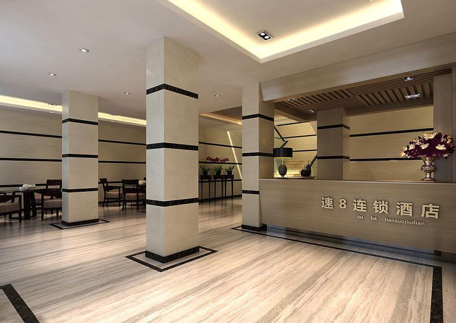 经济连锁精品酒店——速8酒店设计