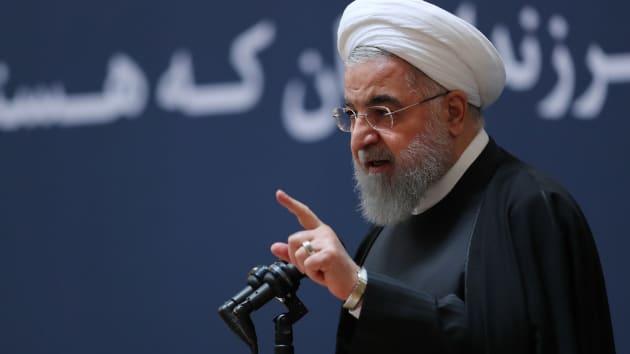 鲁哈尼:美国提出解除对伊朗所有制裁 换取对话