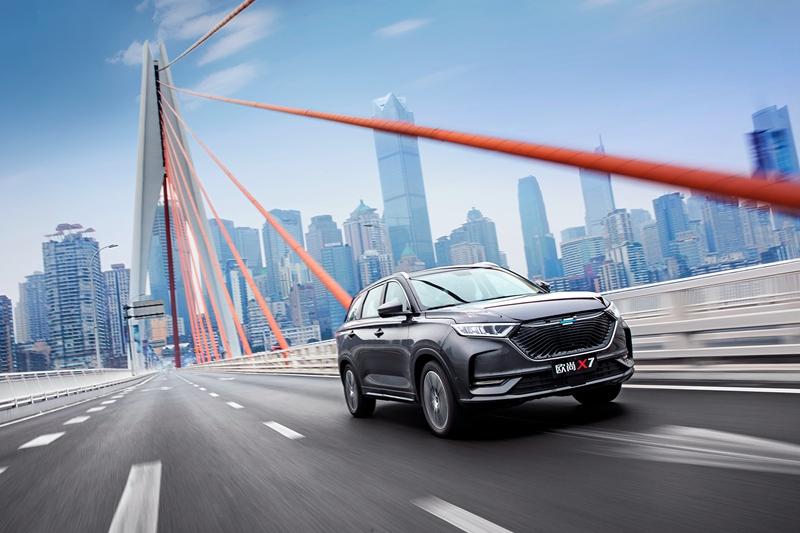 长安欧尚X7六款车型公布,新车将于11月正式上市