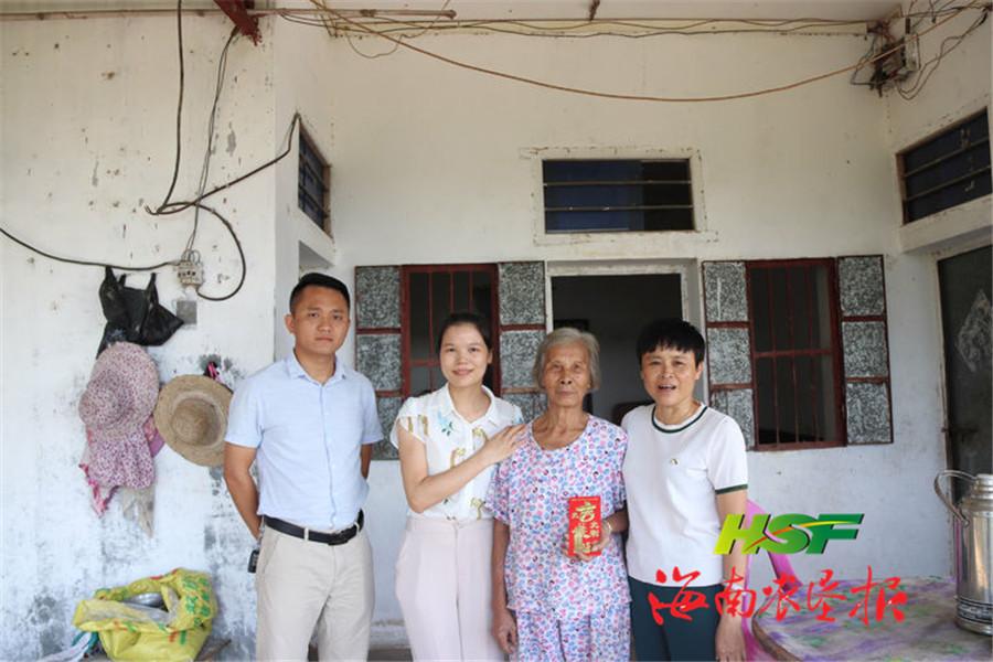南平农场公司开展走访慰问离休干部、劳模活动