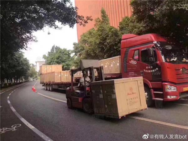 任正非捐100台钢琴给重庆大学