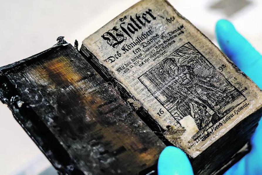 世界初次!俄考古学家在300年前沉船中发明保存无缺书本
