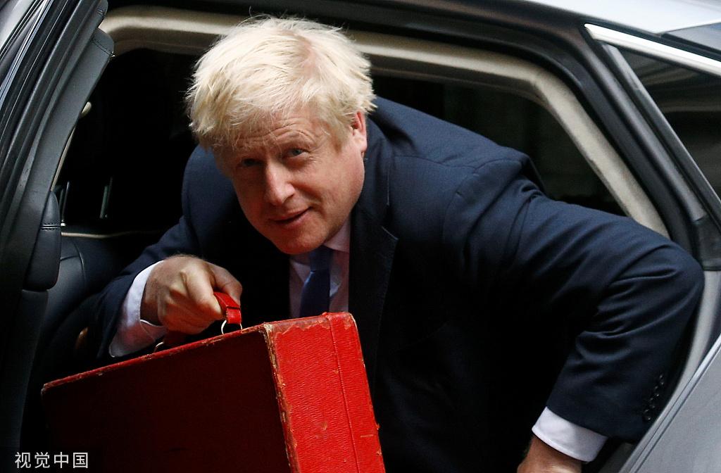 """约翰逊用语欠妥遭批驳,英议会堕入""""混战"""""""