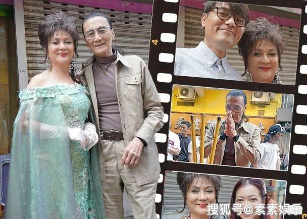 83岁谢贤复出拍戏,与冯宝宝协作,等待芳华的火花再次归来