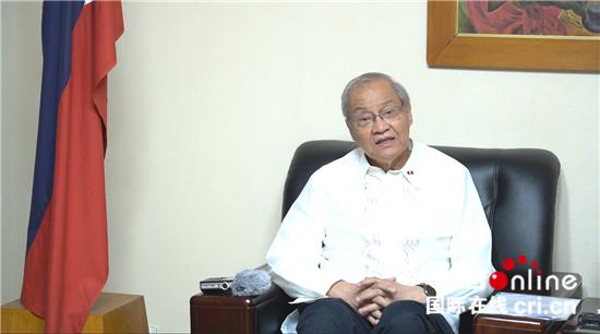 菲律宾驻华大使:现在是总结新中国发展经验的好时机-国际在线
