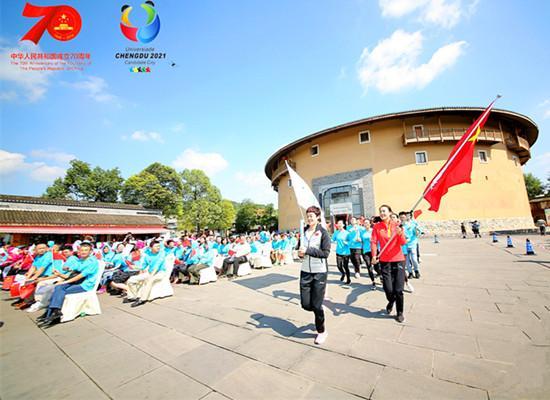 成都龙泉驿区全民健身共筑健康活动启动