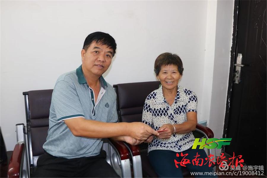 海垦广坝农场公司开展慰问劳模活动