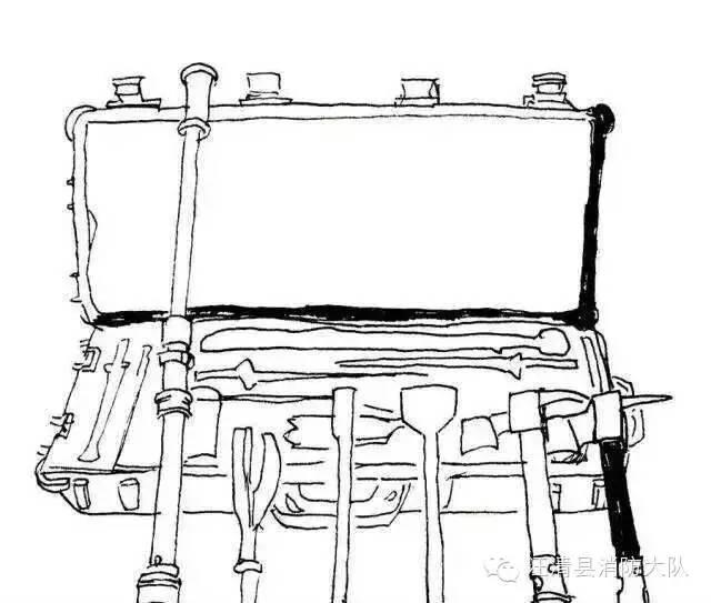 消防简笔画,你能认出哪些呢