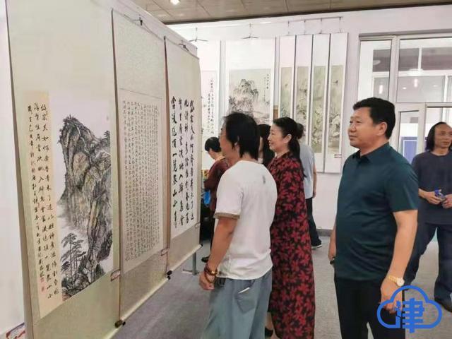 庆祝新中国成立70周年 宁河区举办书画作品展览