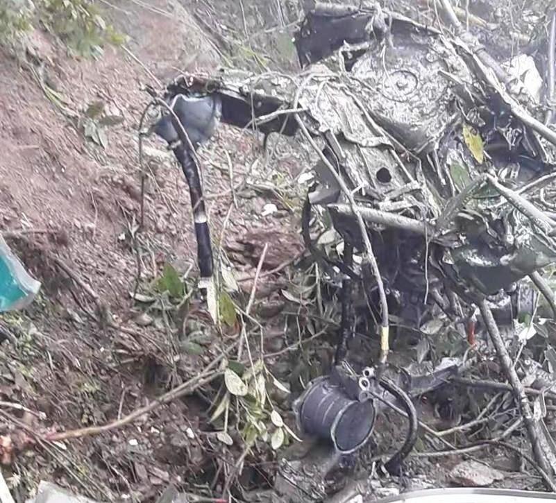 印军一架直升机在不丹坠毁 2名飞翔员丧生