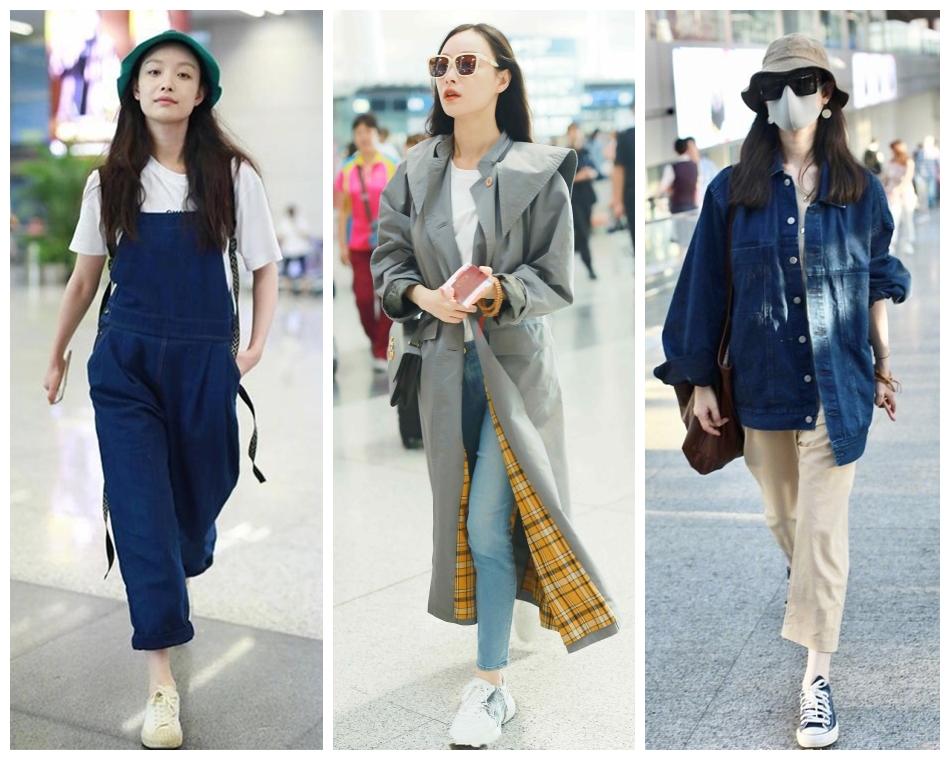 倪妮穿249元外套现身,牛仔裤剪俩口好时髦,路人搭配难掩好气质