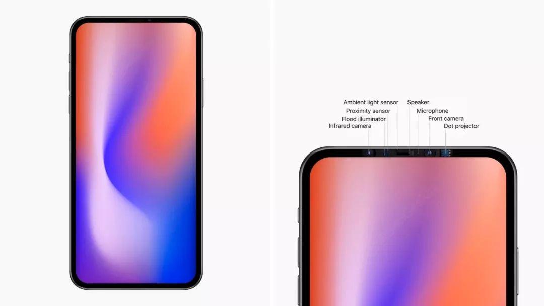 下一代 iPhone 原型机设计首曝,刘海没了