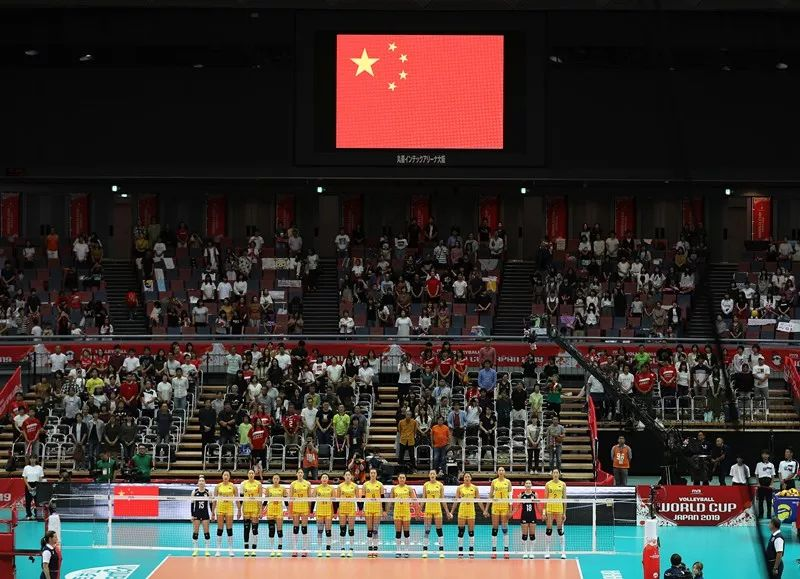 中国女排十连胜!世界冠军!