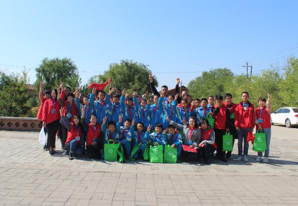 献礼新中国成立70华诞 兴和县环保协会走进校园
