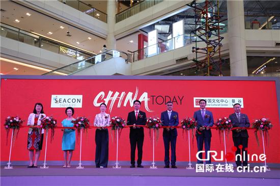 中国十大博物馆文创产品走进泰国大型商场-国际在线
