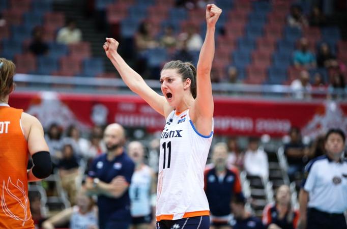 女排世界杯最新排名,中国队夺冠,美俄争银牌,第四名争夺更激烈