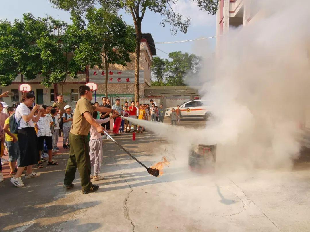 梅县区白渡镇50名留守儿童接受应急知识培训