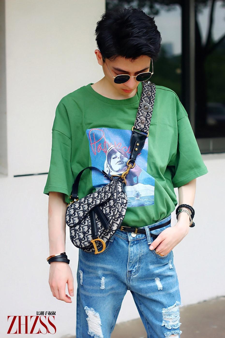 男士丨打眼的绿色T恤