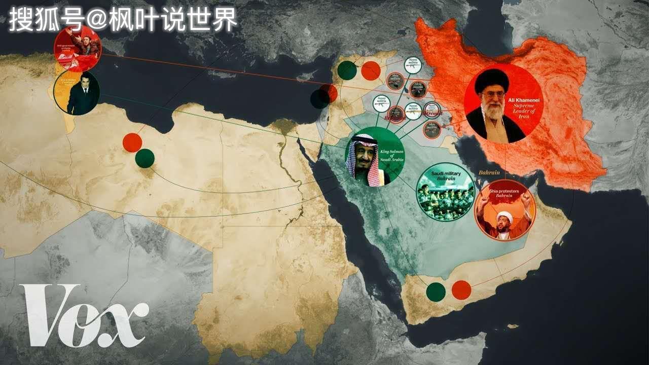 中东何以成为当今世界的火药桶,除了石油争夺战,这里还有什么?