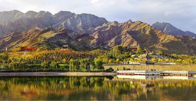 """宁夏面积最小的市,三面被内蒙古包围,号称""""塞上煤城"""""""