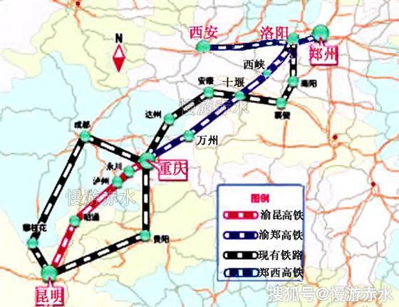 中国西南地区重要的高铁线路 渝昆高铁图片