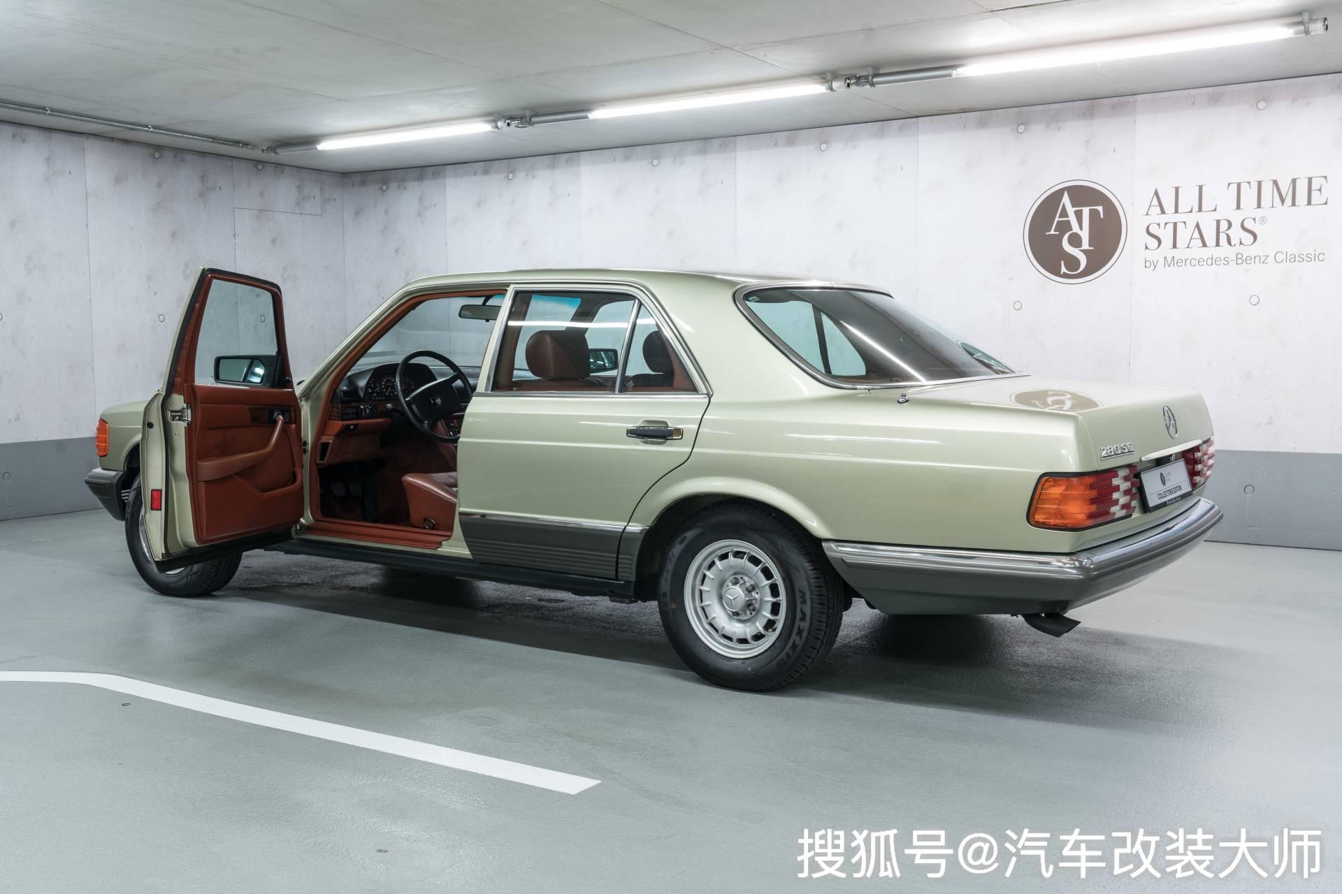 从未被超越奔驰S级车豪华商务车 1982年的S级