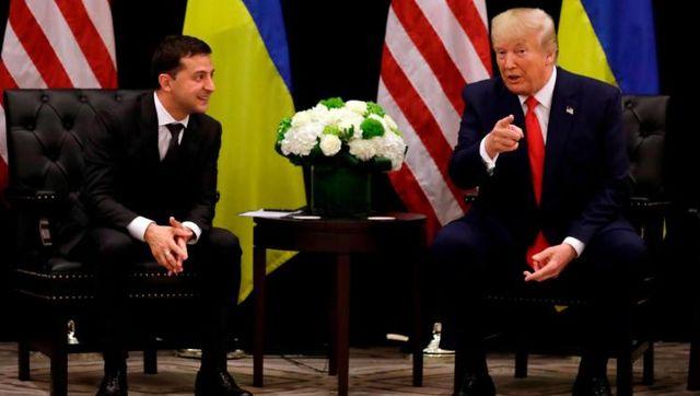 """特朗普和衆議院互撕,""""通話門""""危機加劇,烏克蘭總統怕殃及池魚"""