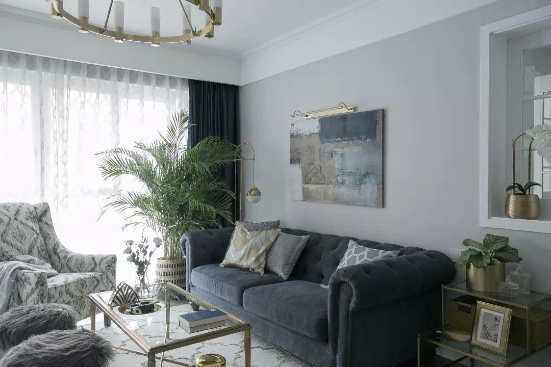 137平三居新房装修,轻奢北欧风,营造轻盈浪漫的小资情调