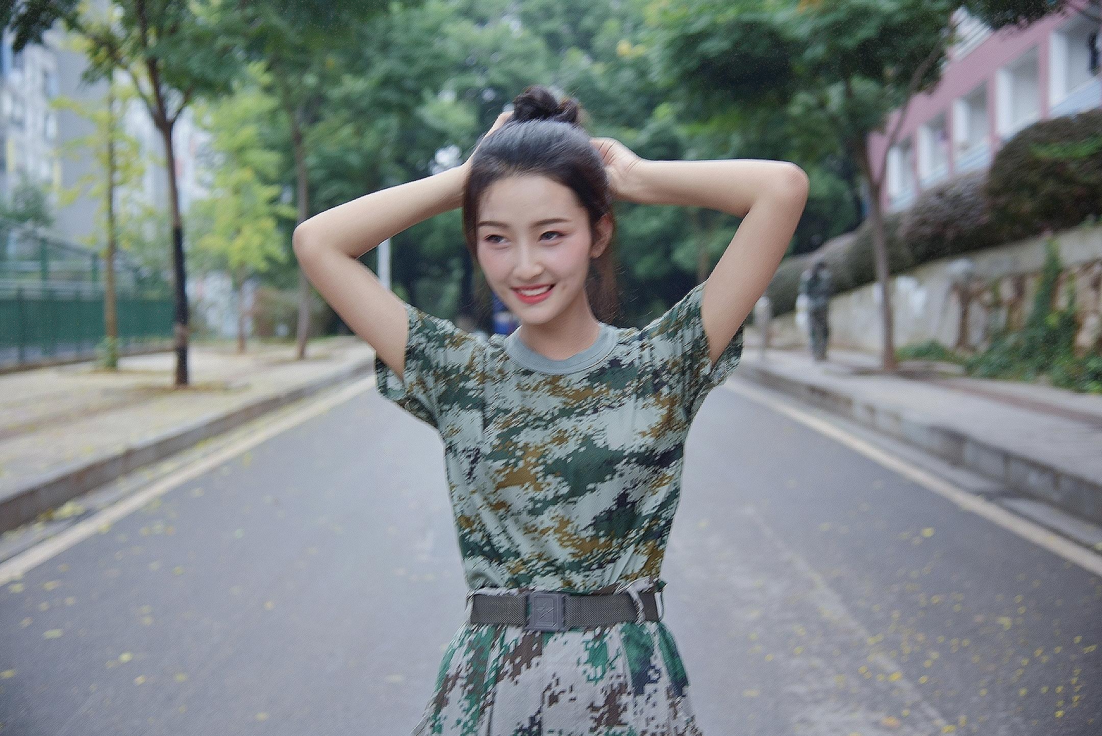 【校花日志】2019狐友校花王文卓笑容甜美 小姐姐能歌善舞又努力